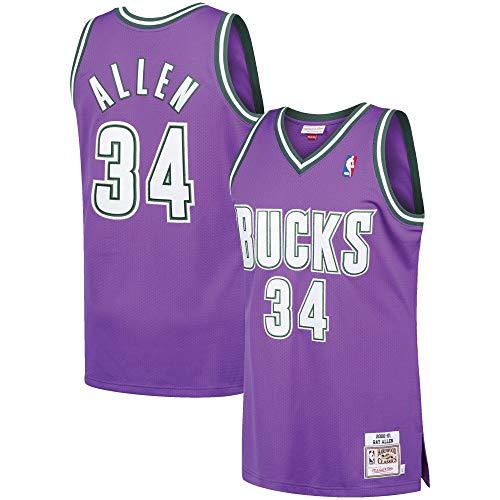 Ray Allen Milwaukee Bucks Swingman Throwback 2000-2001 Replica Jersey - Jersey Allen Ray