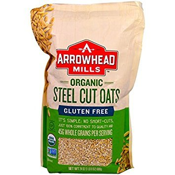 Steel Cut Oats Hot Cereal Gluten Free 24 Ounces (Case of 12) ()