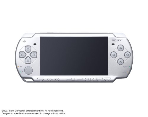 Sony PSP Slim & Lite PSP-2000IS - Handheld Game Console - Ice Silver Japan Import