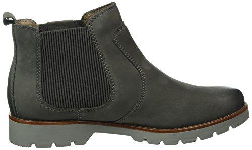 Jana Damen 25402 Chelsea Boots Grau (grafite 206)