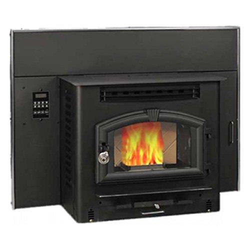 wood pellet stove insert - 2