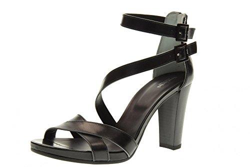 NERO GIARDINI Los zapatos de tacón sandalias P717580D / 100 NEGRO