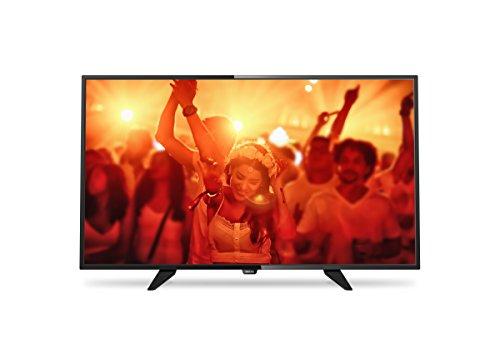 Philips 32PFK4101/12 80 cm (32 Zoll) Ultraflacher Full HD-LED-Fernseher mit Digital Crystal Clear, DVB-T/C/S/S2 schwarz
