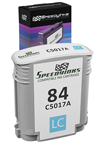 Speedy Inks Remanufactured Ink Cartridge Replacement for HP 84 / C5017A (Light -