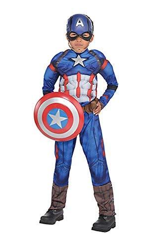 Captain America: Civil War Boys Captain America Muscle