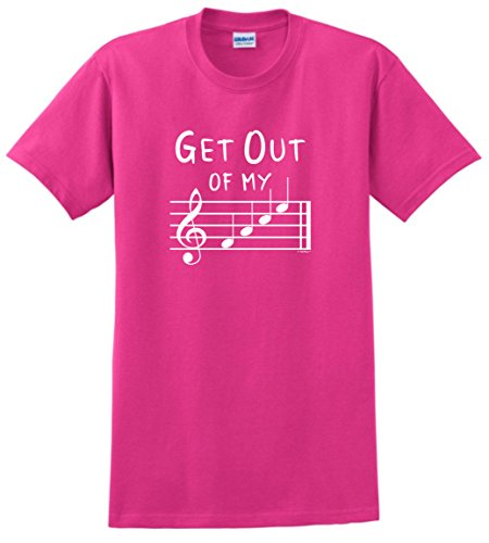 e Shirts Funny Music Gifts Get Out of My Face Musical Notes T-Shirt Large Hlcna (Tutor Sheet Music)