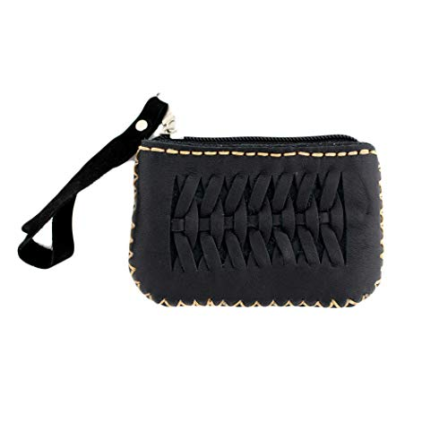 Women's Small Black Leather...