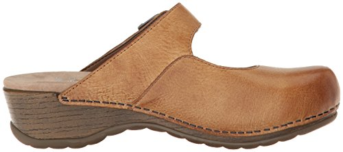 Dansko Women's Martina Mary Jane Flat, Honey Distressed, 40 EU/9.5-10 M US by Dansko (Image #7)