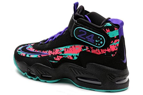 e2e86426df Nike Mens Air Griffey Max 1 BLACK/DARK CONCORD/HYPER JADE/BLACK 354912-014  10.5