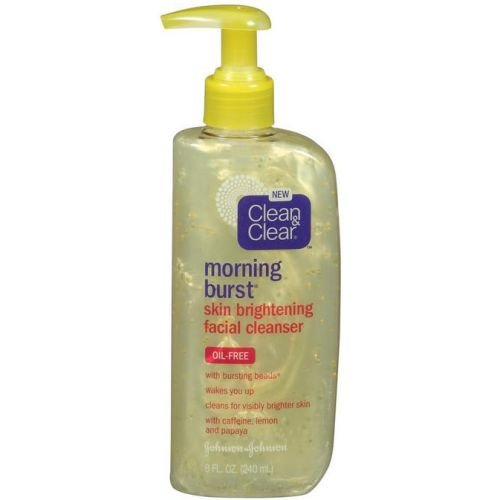 - Clean and Clear Morning Burst Skin Brightening Facial Cleanser, 8 Fluid Ounce - 24 per case.