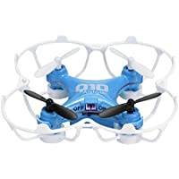 Arshiner CX-10 Mini Drone 6-Axis Gyro 4CH 2.4GHz CF Mode 360° Eversion RC Quadcopter(Blue)