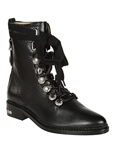 Black Ankle Pulla Toga Aj876black Women's Leather Boots BSFwqgwXn