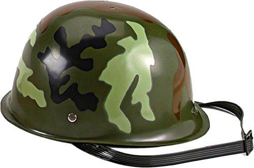 Kids Woodland Camouflage Army Toy Helmet by AMYE
