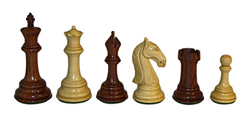 Checkmate Rosewood Camelot Chessmen by Checkmate