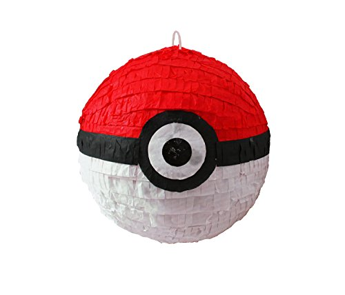 PK BALL Deluxe Pinata for Pokemon Theme Parties by Aztec Imports, Inc.