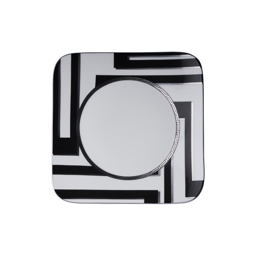 Versace by Rosenthal Dedalo Dinner plate 10 1/4 -Inch, square