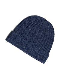 100% Pure Cashmere Cable Knit Hat, Super Soft