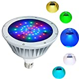 Best Led Pool Lights - SEURON LED Pool Light,Waterproof 12V 40W Color Spash Review