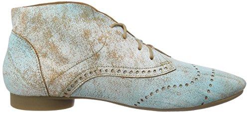 Think!Guad Stiefelette - botas desert Mujer Azul - Blau (LAGUNE/KOMBI 88)