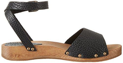 Sanita Ladies Tinea Sandalo Basso Sandalo Con Cinturino Nero (nero)