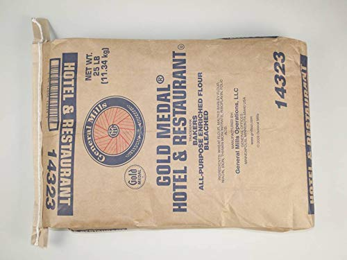 General Mills Hotel and Restaurant All Purpose Flour, 25 Pound -- 1 each. by General Mills (Image #1)