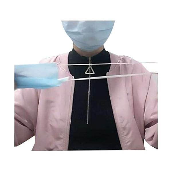 Webla 100Pcs Corda Per Maschera Corda Per Cinturino Rimovibile Elastico Alto Corda Elastica Per Orecchie Alta(20Pcs) 5 spesavip
