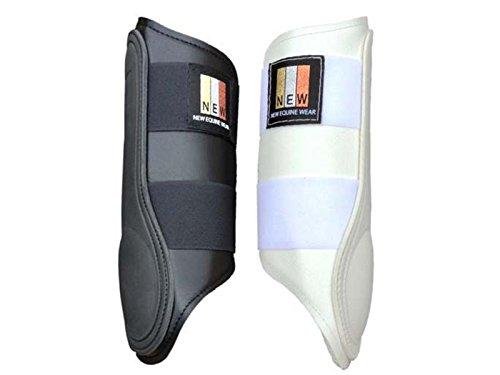New Equine Wear Brushing Boot Lite Small Black x Pair
