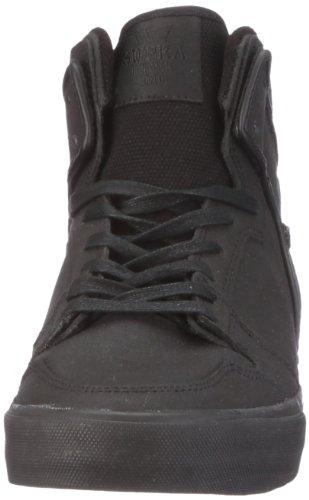 Supra Vaider S28055, Sneaker uomo Nero (Schwarz/Black Gunny Tuf)