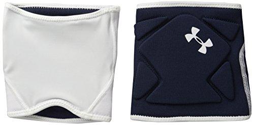 Under Armour Switch Volleyball Knee Pad, White/Midnight Navy/Midnight Navy, Small/Medium
