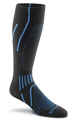 FoxRiver Men's Bristol Over-The-Calf, Black/Blue, ()