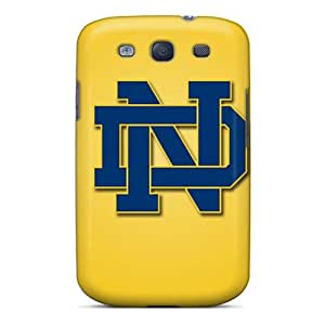 Premium RCl6327AjVQ Case With Scratch-resistant/ Notre Dame Fighting Irish Case Cover For Galaxy S3