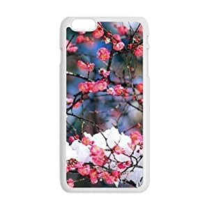 Personalized Creative Cell Phone Case For iphone 5C ,glam snow flowers trees