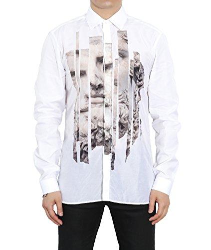 wiberlux-neil-barrett-mens-sliced-statue-print-concealed-placket-shirt-40-white