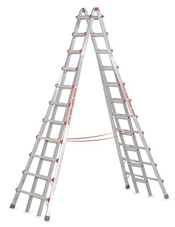 Amazon.com: Little Giant Ladders 10121 SkyScraper 300-Pound Duty ...