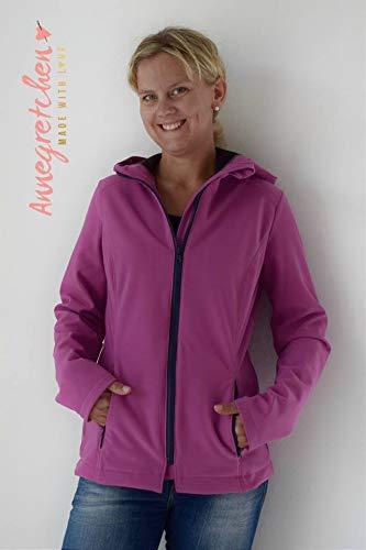lillesol /& pelle Schnittmuster lillesol Women No.21 Softshell-Jacke in Gr/ö/ße 34-50 zum N/ähen mit Foto-Anleitung und Video