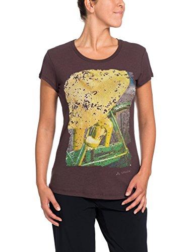 VAUDE Mujer Camiseta ciclista morado - morado