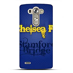 DIY Design FC Chelsea Football Club Phone Case Cover For LG G4 3D Plastic Phone Case