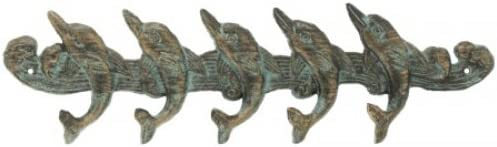Playful Dolphins Wall Hooks