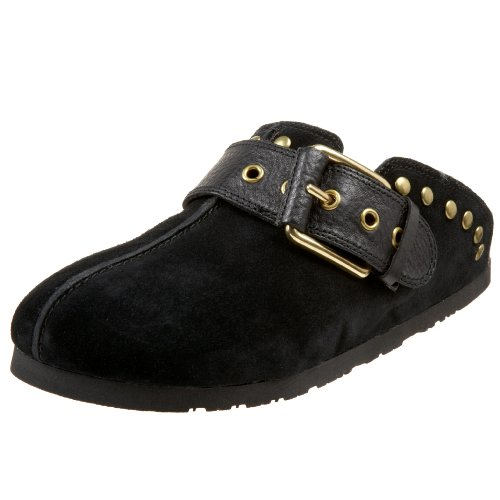 Lucky Womens Bryn Mule Black BgPbl