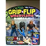 WCW/NWO Grip n Flip Wrestlers Diamond Dallas Page & Raven by Toy Biz by Toy Biz