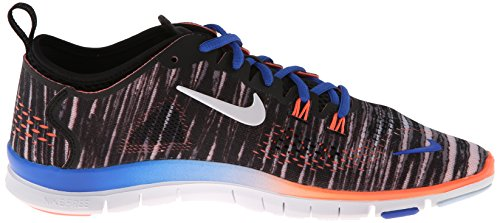 Nike Kvindernes Fri 5,0 St Passe 4 Print Sort / Hyper Kobolt / Lyse Mango / Hvid