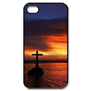 ALICASE Diy Customized hard Case Cross For Iphone 4/4s [Pattern-1]