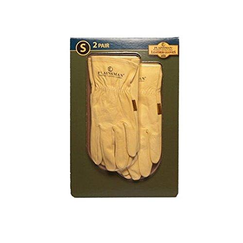 Plainsman Cabretta Leather Gloves- Small - 2 Pair