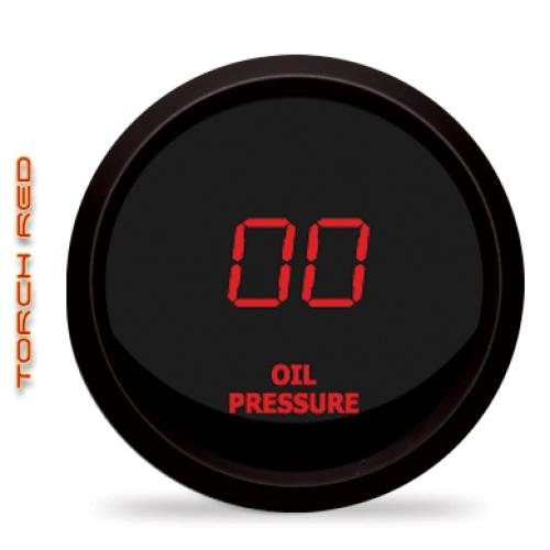 Intellitronix Red LED Digital Oil Pressure Gauge