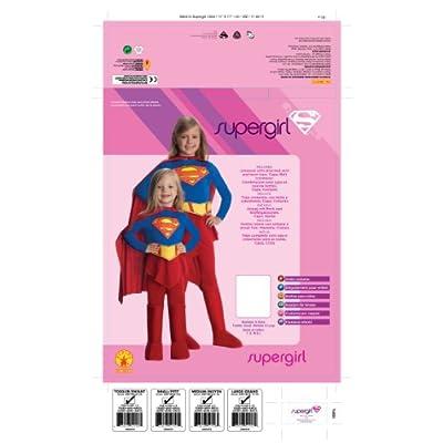 Rubie's DC Comics Supergirl Child's Costume: Toys & Games