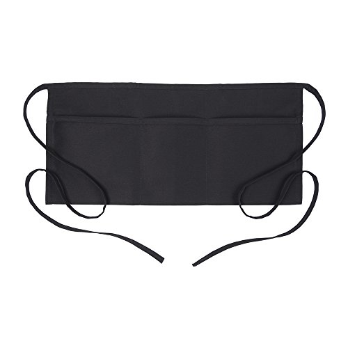 (Fame Adult 3 Pocket Waist Apron (Black-O/S) F9-83313)