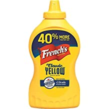 Frenchs Classic 100% Natural Yellow Mustard, 20 Ounce