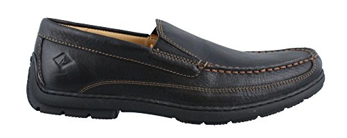 Sperry Top-Sider Men's Gold Loafer Twin Gore Black Slip-On, 12 M