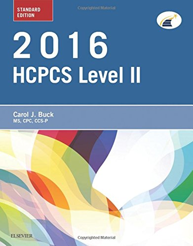 2016 HCPCS Level II Standard Edition, 1e (Hcpcs Level II (Saunders))
