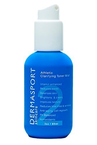 DERMASPORT Athletic Clarifying Toner Mist, 2.0 Ounce by DermaSport